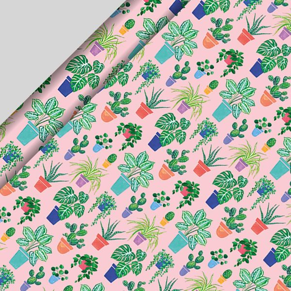House Plants Wrapping Paper - 3m