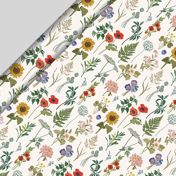 Floral Wrapping Paper - 3m