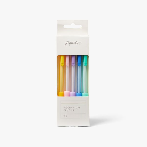 Pastel Mechanical Pencils - Pack of 5