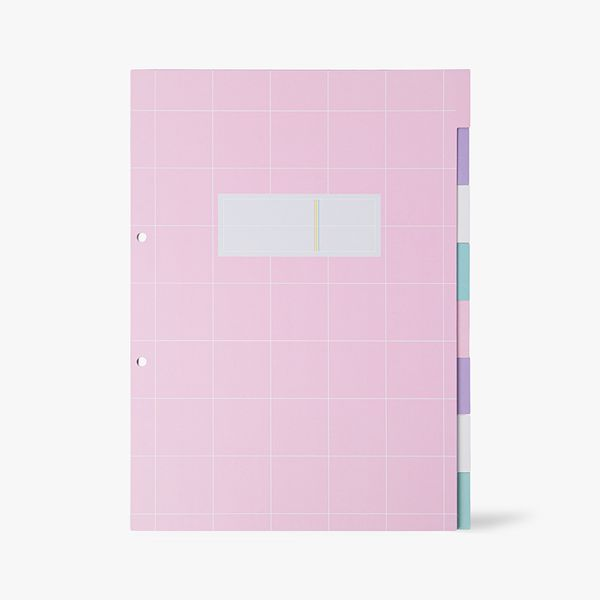 8-Part A4 Pastel Subject Dividers