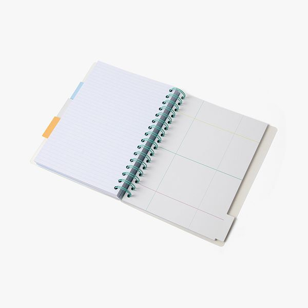 A5 Frosted Subject Notebook