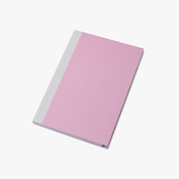 A5 Pink Subject Notebook