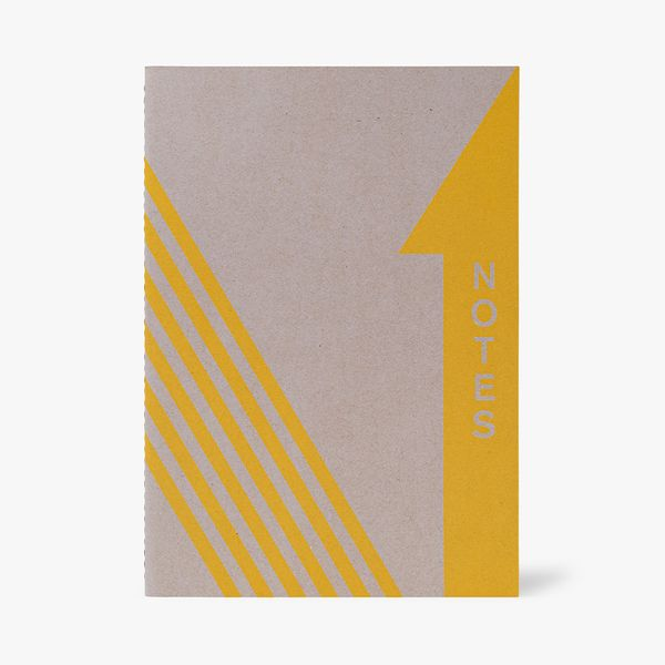 A4 Primary Yellow Notebook