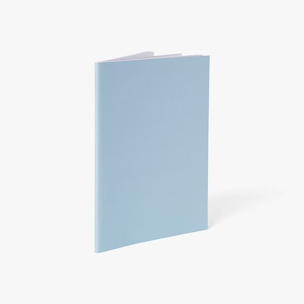A5 Blue Exercise Notebook