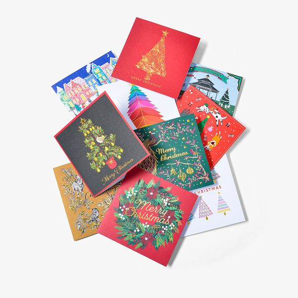 Assorted Charity Christmas Cards - Box of 24