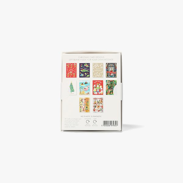 Small Assorted Christmas Cards - Box of 24