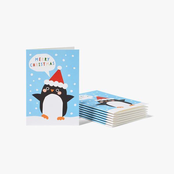 Kids Cube Christmas Cards - Box of 32