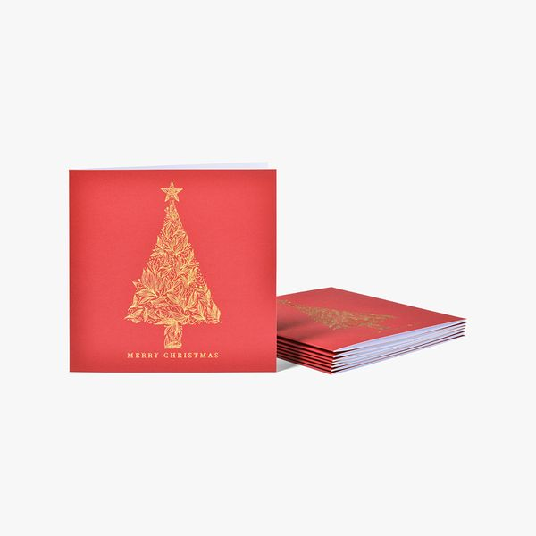Luxe Christmas Tree Charity Cards - Pack of 8