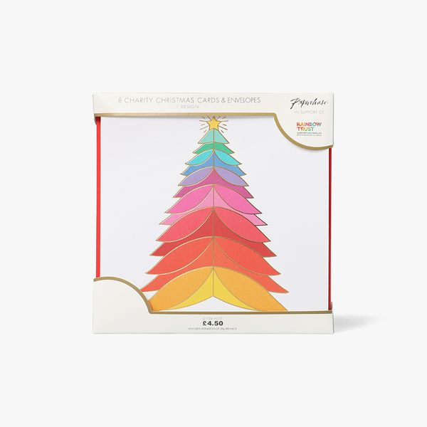 Christmas Rainbow Charity Cards - Pack of 8