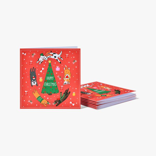 Dogs Christmas Charity Cards - Pack of 8