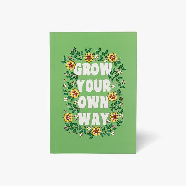 A5 Grow Your Way Magazine Notebook