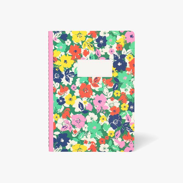 A5 Floral Exercise Notebook