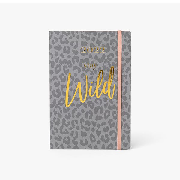 A5 Stay Wild Mid-Year Diary
