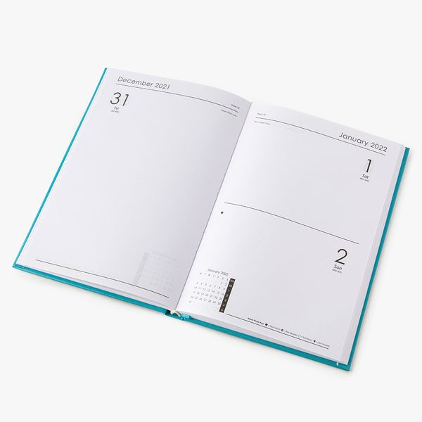 A5 Blue Mid-Year Diary