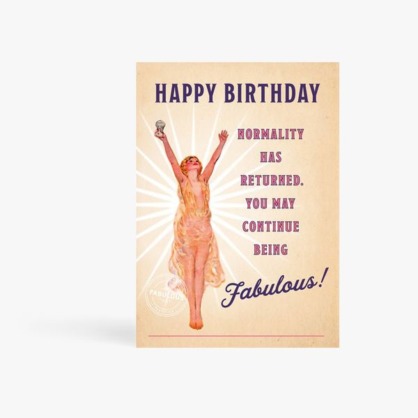 Continue Being Fabulous Card