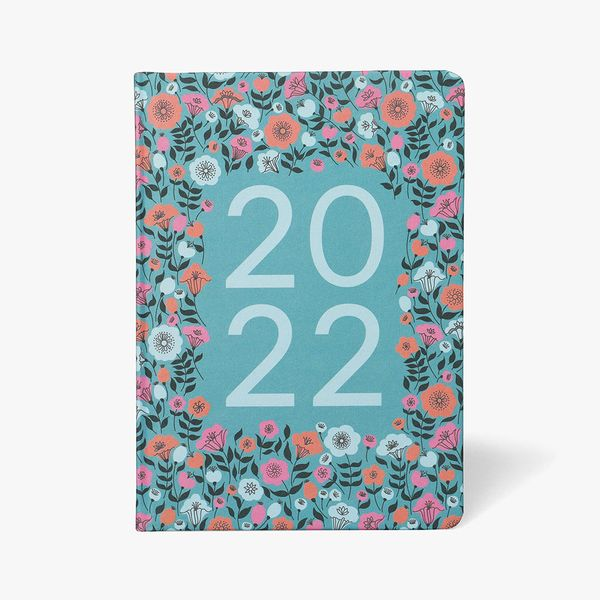 A5 Ditsy Floral Family Diary 2022