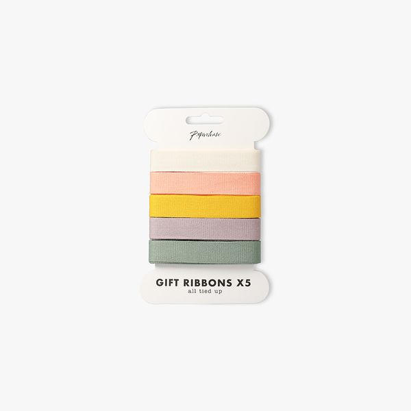 Natural Cotton Ribbons 2m - Pack of 5