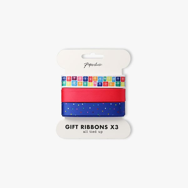 Birthday Presents Ribbons 3m - Pack of 3
