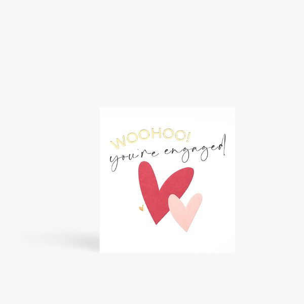 Woohoo You're Engaged Card