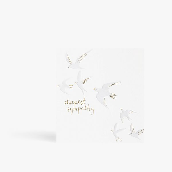 Deepest Sympathy Doves Card