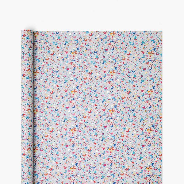 Confetti Shapes Wrapping Paper - 5m