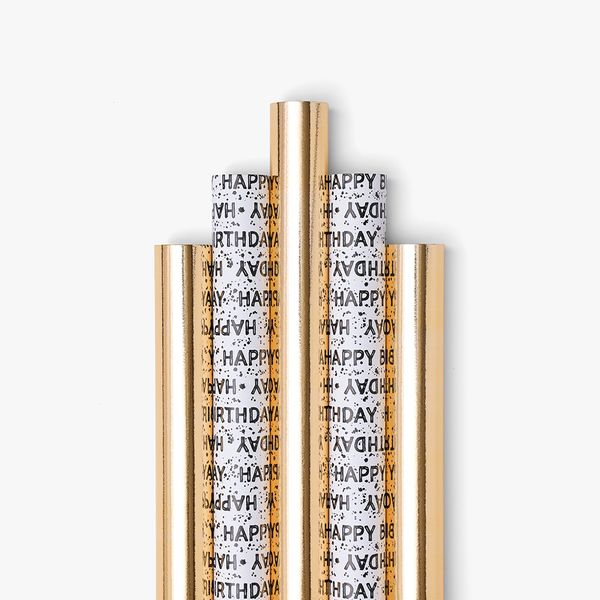 Gold And Monochrome Wrap Bundle - Pack of 5