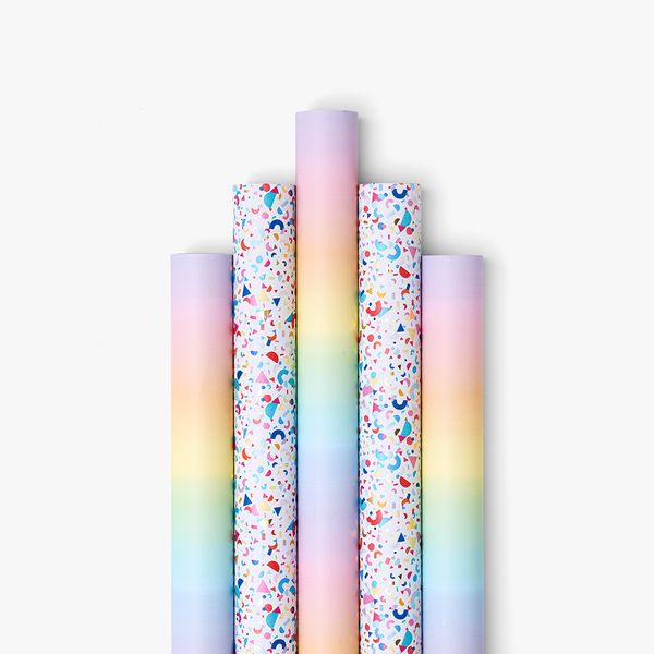 Multi Pastel and Confetti Wrap Bundle - Pack of 5