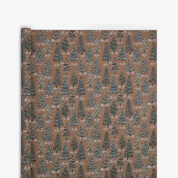 Painted Trees Wrapping Paper - 3m