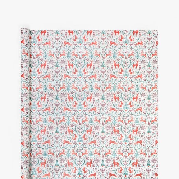 Rustic Scandi Wrapping Paper - 3m