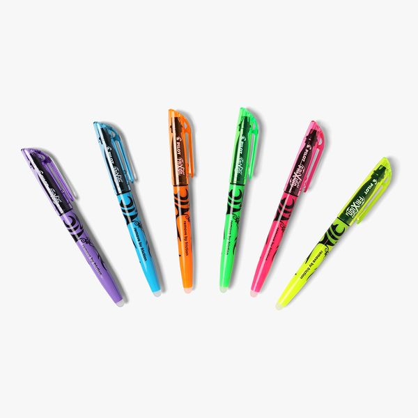 Pilot FriXion Highlighters - Pack of 6