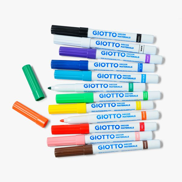 Giotto Decor Material Pens - Pack of 12