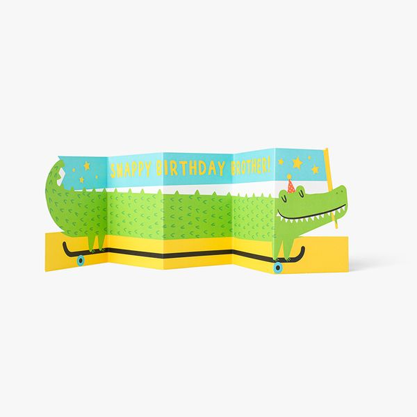 Snappy Birthday Brother Card