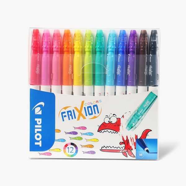 Pilot FriXion Erasable Markers - Pack of 12