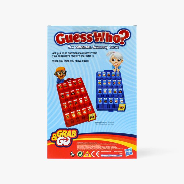 Guess Who Grab & Go Game