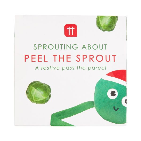 Talking Tables peel the sprout  game