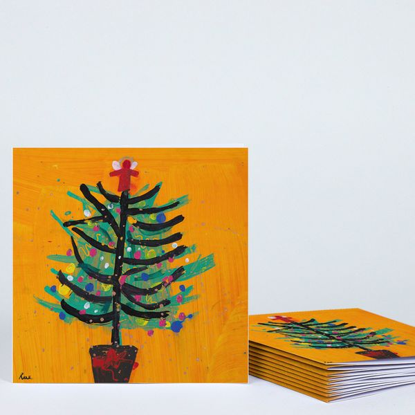 The Royal Academy of Arts Orange tree Christmas cards - pack of 10
