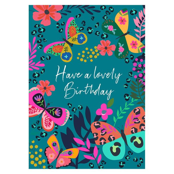 Butterfly have a lovely birthday card