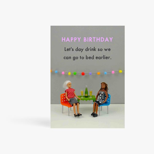 Lets day drink birthday card