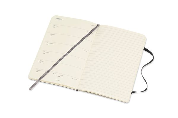Moleskine Black Small Soft Diary 2021