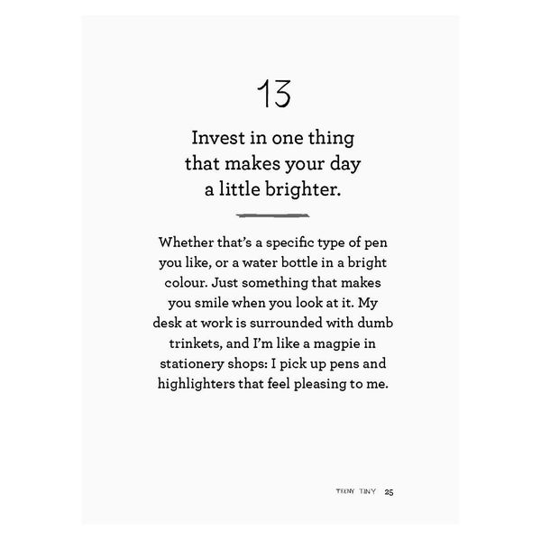 101 tiny changes to brighten your day