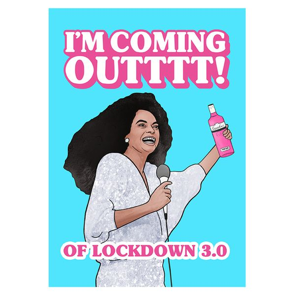 I'm Coming Out Card