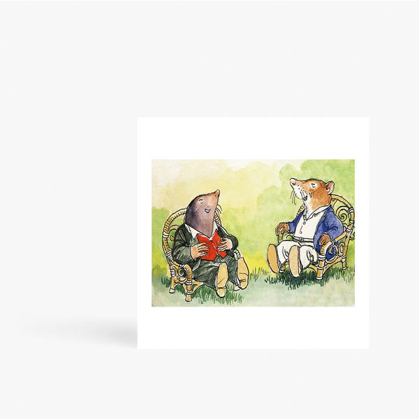 The Wind in the Willows Card