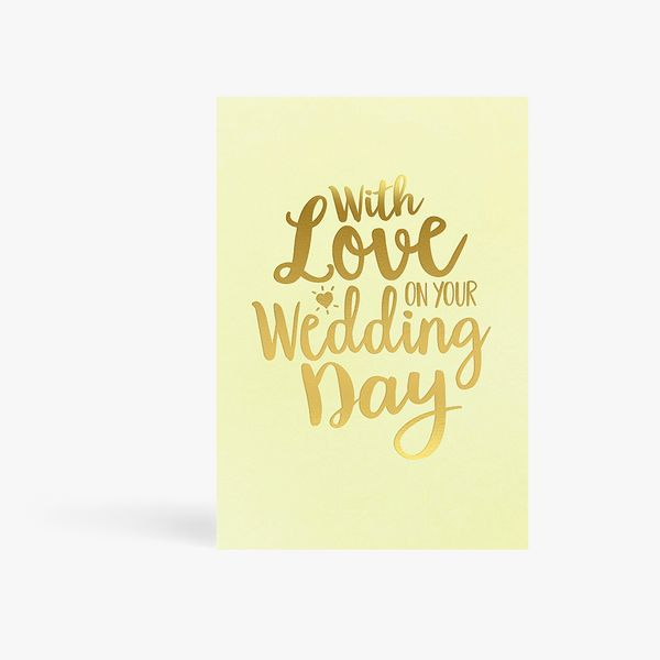 With Love Wedding Day Card