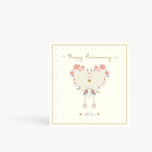 With Love Anniversary Card