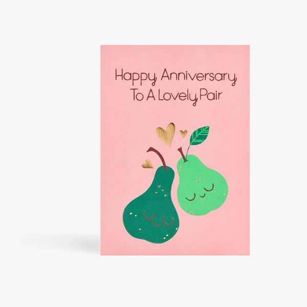 Lovely Pair Anniversary Card