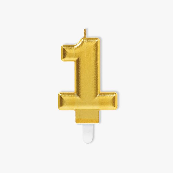 Gold Candle Number 1