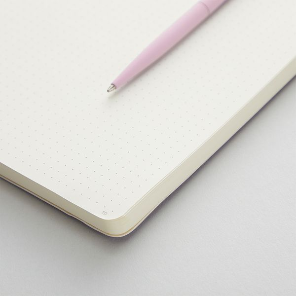 Agenzio soft blush dot small notebook