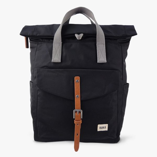 Roka Canfield Sustainable Backpack - Black
