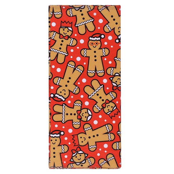 Gingerbread man tissue paper - 3 sheets